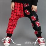 กางเกงขายาว spiderman *แดง-ดำ* 5 ตัว/แพค *ส่งฟรี*