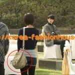 [พร้อมส่ง][BB18]กระเป๋าสะพายแฟชั่นเกาหลี Secret garden กิลราอิม สีครีม คล้ายเป้ สะพายข้างได้