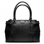 COACH MADISON LEATHER KARA CARRYALL # 22262 สี Silver/Black