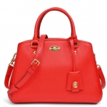 COACH SIGNATURE MINI MARGO CARRYALL # 34835 สี IM / Cardinal
