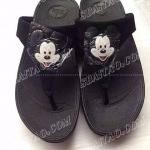 รองเท้าแฟชั่น รองเท้าเพื่อสุขภาพ Fitflop Mickey Mouse