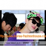 [พร้อมส่ง] หมวก หูสองข้าง แบบโจควอน เยวอน