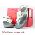 **พร้อมส่ง**FitFlop Floretta : Antique White : Size US 9 / EU 41