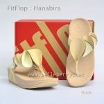 **พร้อมส่ง** FitFlop Hanabira : Nude : Size US 7 / EU 38