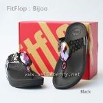 **พร้อมส่ง** FitFlop Bijoo : Black : Size US 6 / EU 37