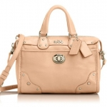 Coach Rhyder Mini Satchel in Leather # 33690 สี Apricot