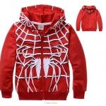 แจ็คเก็ต+เสื้อกันหนาว มีฮู้ด spiderman *03* 6 ตัว/แพค *ส่งฟรี*