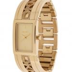 DKNY Crystal Gold Stainless Steel Bracelet NY8401