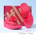 **พร้อมส่ง** FitFlop Yoko : Hibiscus : Size US 7 / EU 38