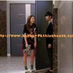 [พร้อมส่ง] รองเท้าส้นสูง สีเงิน สีดำ กลิตเตอร์ แบบของชอนซงอี ในเรื่อง my love from star 별에서 온 그대 ไซส์37#38#39#