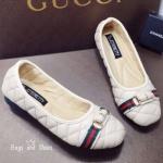 พร้อมส่ง / แบบขายดี...พร้อมส่ง!!! รองเท้าคัชชู ส้นเเบน &#x2728Style Gucci &#x2728