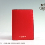 COACH DARCY LEATHER PASSPORT CASE # 67737