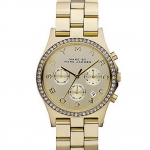 Marc By Marc Jacobs Henry Glitz Gold Watch MBM3105