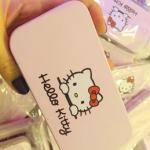 Pre Order / ชุดแปรงแต่งหน้า Hello Kitty พร้อมกล่องเหล็ก 7 ชุด