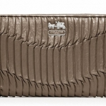 Coach madison gathered leather accordion wallet # 46481