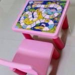ชุดโต๊ะเก้าอี้มีเกม ประกอบได้