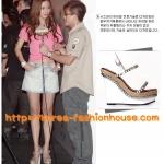 [พร้อมส่ง]SI03รองเท้าแฟชั่นเกาหลี ส้นตึก สีขาว แบบน่ารัก คนดังใส่เยอะค่า 37#