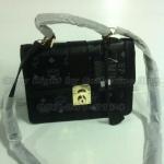 กระเป๋า  MCM  ทรงเหลี่ยม  ไซส์มินิ  ขนาด  9  นิ้ว   สีดำ