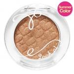 {Pre Order} ** Etude Look At My Eye #BR407 Love Sand Castle [3500w] : Eye Shadow จาก Etude update สีใหม่ เนื้อดี ให้สีสวยด้วย Luxury & Visual Pearl Pigment