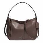 COACH MADISON TOP HANDLE IN LEATHER # 51900 สี Mink Brown