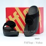 **พร้อมส่ง** FitFlop Yoko : Black : Size US 6 / EU 37