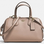 COACH NOLITA SATCHEL IN CROSSGRAIN LEATHER # 36392 สี STONE สำเนา