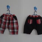 กางเกงเด็กผ้าขาวม้า ไซส์ M