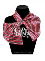 ผ้าพันคอสำเร็จรูป ผ้าไหมซาติน : TB014- size 65*35 cm