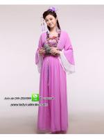 ชุดสาวจีนสีม่วง