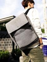 กระเป๋าเป้ผู้ชายทรงสี่เหลี่ยมแฟชั่นผู้ชายจากเกาหลีมี2สี