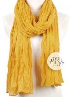 ผ้าพันคอแฟชั่น Hot Basic : สี Turmeric