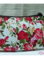 กระเป๋าเอนกประสงค์แบบมีจีบซิปไนล่อนไม่มีซับใน
