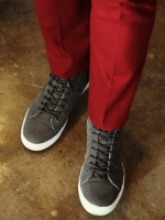 รองเท้าเสริมส้นสูงรวม5.5CM.แฟชั่นผู้ชายจากเกาหลีมี3สี