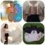 [[พร้อมส่ง]] Shopalo0229 เสื้อผูกหลังแขนผีเสื้อแบบคุณลิเดียร์และคุณบีใส่มาแล้วนะคะ เป็นผ้าซาตินซิลค์ ผ้าพริ้ว งานสวย รอบ 3 thumbnail 3