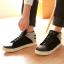 รองเท้าผู้ชาย   รองเท้าแฟชั่นชาย รองเท้าหุ้มข้อ แฟชั่นเกาหลี thumbnail 1