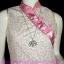 #ตามคำเรียกร้อง# <สวยใส่แล้วเฮงๆ> DB275 Sweet ChiNeSE DreSS ใหม่! แซคคอจีนสไตล์เฉียง ลายดอกหลากสี กุ๊นชมพู สีสดใสสวยค่ะ เก๋ๆผ่าข้าง thumbnail 2