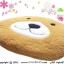 เบาะรองนั่งแฟนซี-หมี-สีน้ำตาลทอง thumbnail 3