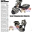 Shoes104 Leopard Print Shoes ใหม่! แบรนด์เกาหลี รองเท้าส้นสูงPlatform รัดข้อลายเสือดาว แต่งเข็มขัดสามเส้น ไซส์ 35  thumbnail 1