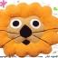 เบาะรองนั่งแฟนซี-สิงโต-สีส้ม thumbnail 2