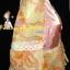 #Bestseller# สาวอวบห้ามพลาด! LDB479::สไตล์แบรนด์เนมหรู เดรสแขนสามส่วน ชุกแซกผ้าชีฟองลายดอกไม้สีหวาน ดีไซน์หรูด้วยผ้าซาตินและลูกไม้ทรงย้วยสวย สีหวานสวย thumbnail 3