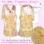 #Bestseller# สาวอวบห้ามพลาด! LDB479::สไตล์แบรนด์เนมหรู เดรสแขนสามส่วน ชุกแซกผ้าชีฟองลายดอกไม้สีหวาน ดีไซน์หรูด้วยผ้าซาตินและลูกไม้ทรงย้วยสวย สีหวานสวย thumbnail 1