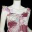 <สไตล์สาวเชอรี่ เขมอัปสร ห้ามพลาด>TB381: ::Angel Sweet ใหม่! เสื้อแขนระบายผ้าชีฟองอกน่ารักชายแหลม แบบสวย พื้นสีหวาน เฉดแดงเลือดหมู thumbnail 2