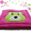 พรมเช็ดเท้าแฟนซี-Size L-หมี-บานเย็น thumbnail 1