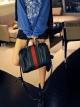 พร้อมส่งแฟชั่นเกาหลี:กระเป๋าเก๋ทรงหมอน+สายยาว