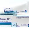 Benzac AC 5% (เบนแซค 5%) 60 กรัม ครีมทาก่อนล้างหน้าช่วยละลายสิวอุดตัน ลดการอักเสบ ฆ่าเชื้อสิว P.acne