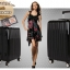 กระเป๋าเดินทางไฟเบอร์ รุ่น Aluminium ดำ ขนาด 28 นิ้ว thumbnail 3