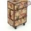 กระเป๋าเดินทางวินเทจ รุ่น vintage classic ลายผีเสื้อ ขนาด 24 นิ้ว thumbnail 4