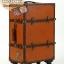 กระเป๋าเดินทางวินเทจ รุ่น vintage classic น้ำตาลส้มคาดน้ำตาล ขนาด 20 นิ้ว thumbnail 3