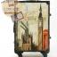 กระเป๋าเดินทางวินเทจ รุ่น vintage classic ลายเมืองลอนดอน ขนาด 20 นิ้ว thumbnail 3