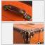 กระเป๋าเดินทางวินเทจ รุ่น vintage classic น้ำตาลส้มคาดน้ำตาล ขนาด 24 นิ้ว thumbnail 6